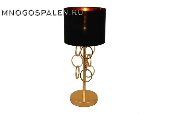 Настольная лампа Crystal Lux ASTA LG1 купить в салоне-студии мебели Барселона mnogospalen.ru много спален мебель Италии классические современные