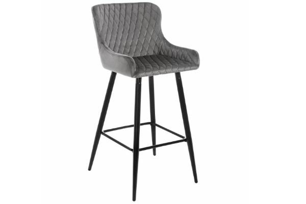 Барный стул Mint серый купить в салоне-студии мебели Барселона mnogospalen.ru много спален мебель Италии классические современные
