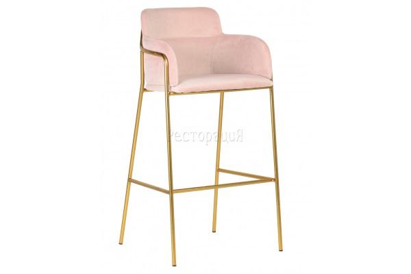 Кресло барное Strike light pink купить в салоне-студии мебели Барселона mnogospalen.ru много спален мебель Италии классические современные