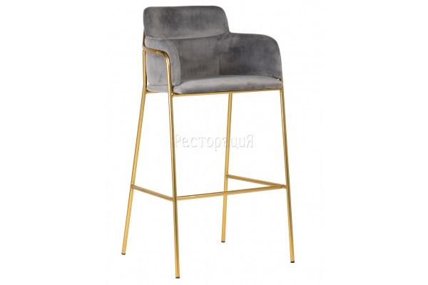 Кресло барное Strike dark grey купить в салоне-студии мебели Барселона mnogospalen.ru много спален мебель Италии классические современные